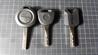 Smart forfour keys